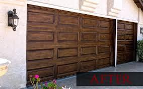 how to paint a metal garage door painted wood garage door plain metal garage with wood