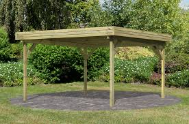 Pavillon Holz Flachdach Selber Bauen Bvrao Com Johncalle