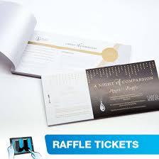 Raffle Ticket Booklets Raffle Tickets Ticket Book Printing