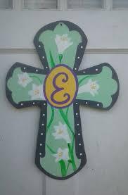 expiredwooden cross door hanger