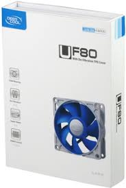 <b>Deepcool UF80</b> Ultra Silent Fan with Patented De-Vibration TPE ...