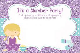 sleepover template slumber party invitations templates free military bralicious co