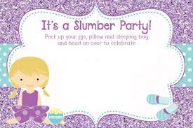 sleepover template slumber party invitations templates free military bralicious co