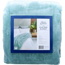house home faux mink blanket ether
