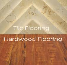 tile versus hardwood flooring