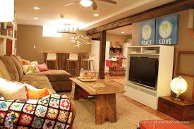 Basement family room with awesome style for family room design and decorating  ideas 10