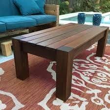 latest build patio coffee table out of ipe