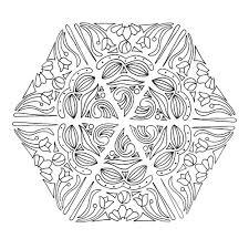 Mandala Magic Adult Coloring Page