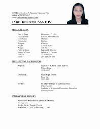 Stirring Resume Sample Pdf Freeoad Format Philippines Samples For