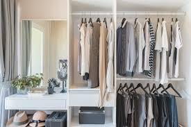 organize your walk in closet