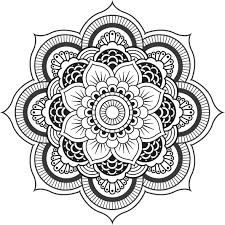 Coloriage Mandala Difficile De Coeur
