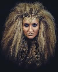 lioness costume diy makeup lion makeup with hair girl