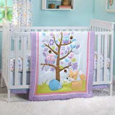 little love by nojo girls adorable orchard 3 pc crib set