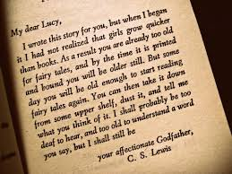 quote dedication book Reading C.S. Lewis diss-ipatedd •