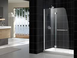 aqua shower door chrome finish