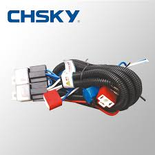 whole patent product hot waterproof v light h patent product hot waterproof 12v 2 light h4 headlight wiring harness relay kits ch