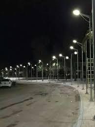 solar streetlight in the main road 7m lights