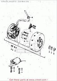 suzuki tc120 1971 r usa e03 flywheel magneto ignition coil flywheel magneto ignition coil schematic