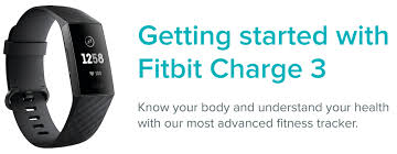 how do i get started with fitbit charge 3