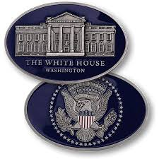 amazoncom white house oval office. the white house oval shaped nickel challenge coin amazoncom office