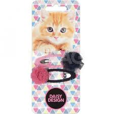 <b>Набор</b> зажимов для волос <b>Daisy Design</b> Kittens Марго (2 шт ...