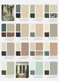 Outside House Paint Color Combinations Ideas For The