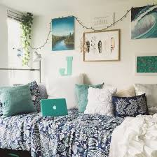 dorm decor room ideas wall college decorating cheap bedding