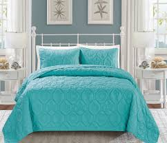 Seashell Spa Blue Reversible Bedspread/Quilt Set | Master bedroom ... & Seashell Spa Blue Reversible Bedspread/Quilt Set Adamdwight.com