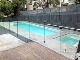 glass fence around pool guide fencing perth bunnings new house