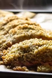 Dijon Panko Crusted Salmon Recipe ...