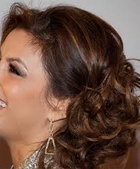 eva longoria parker updo long curly formal wedding updo um brunette chocolate