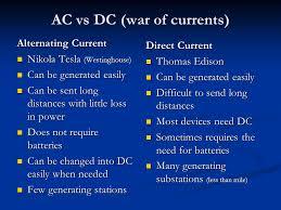 alternating current vs direct current. 9 ac vs dc alternating current direct