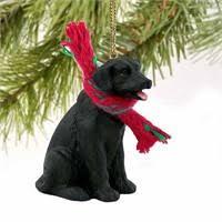 ... Black Lab Christmas Ornament
