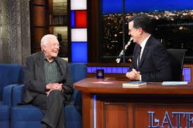 jimmy carter oval office. Jimmy Carter To Colbert: America Apparently Wanted A Jerk For President   EW.com Oval Office R