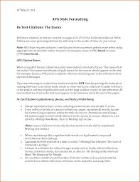 Apa Format 6th Edition Citation Templates Resume Examples Best