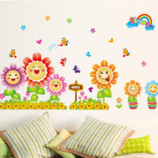 Small Picture Cute Spring Wall Decor Stickers For Kids Room Nursery Decoration