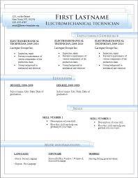 Microsoft Resume Templates Adorable Resume Free Templates Microsoft Word Free Downloadable Resume