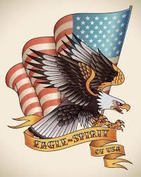 Vektor Eagle Duch Staré školy Tetování 41002767 Fotobanka Fotkyfoto