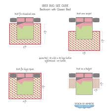 Bedroom Bedroom Rug Placement Simple On Throughout Area Medium Size Cool Bedroom Rug Placement