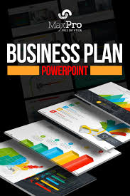 Business Plan In Powerpoint Maxpro Business Plan Powerpoint Template 66751
