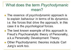 Psychodynamic Approach The Psychodynamic Approach Ppt Video Online Download