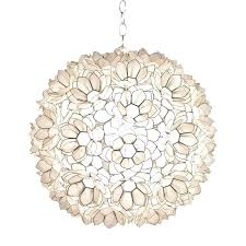 capiz light shell lotus 1 light globe pendant capiz light shade uk