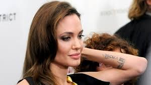 тату анджелины джоли фото значение перевод татуировок актрисы