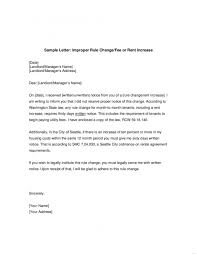 how to write a rent increase notice rent increase notice primary photograph letter sample from landlord