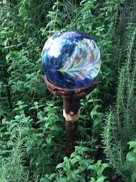 glass for garden art ball ornaments gazing globes large