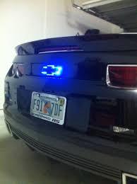 All Chevy blue chevy bowtie emblem : Oracle chevy bowtie illuminated tail light - Camaro5 Chevy Camaro ...