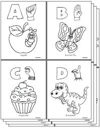 Alphabet Coloring Pages Az Bestlink