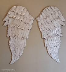 medium size of metal angel wing wall decor canada heart rustic