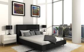 black modern bedroom  charming bed room interior with luxurious design bedroom interior mas