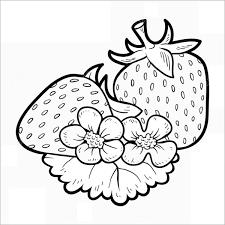 31+ Tranh tô màu quả dâu tây đẹp, ngon nhất